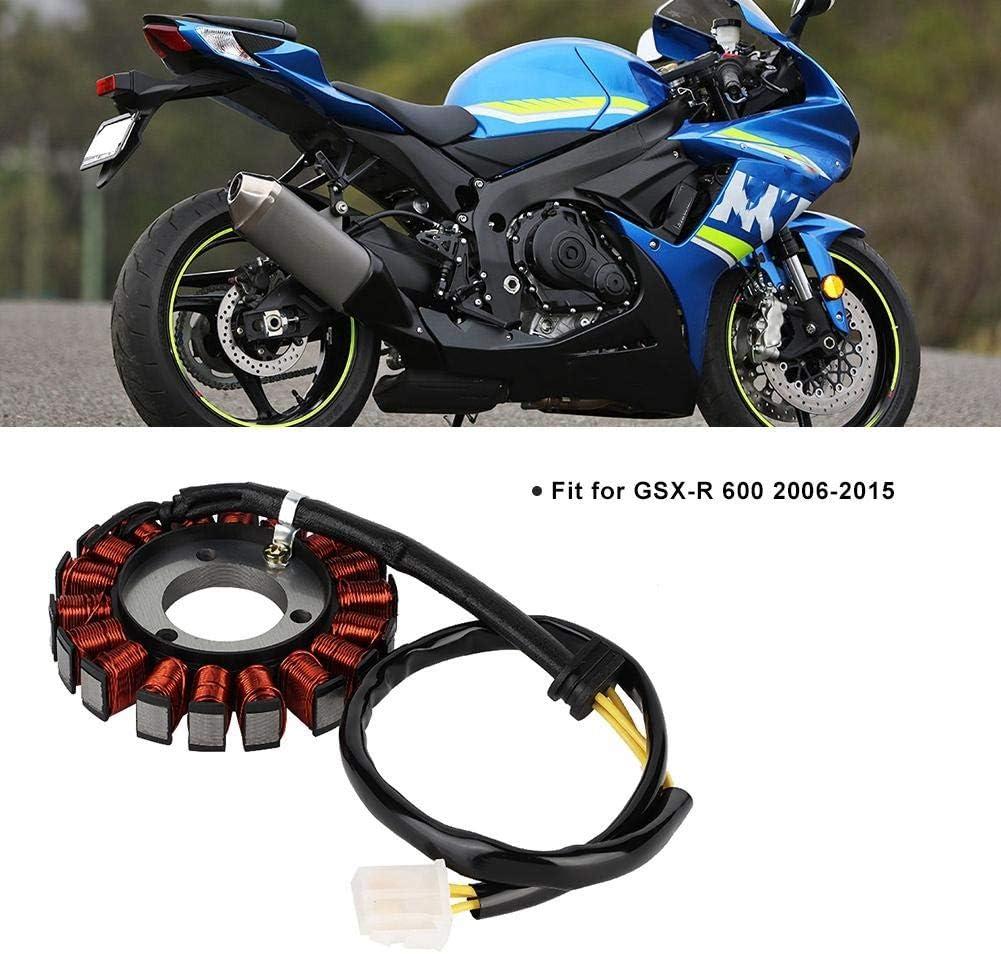 Moto Magneto Stator Bobine CDI Electronics G/én/érateur Stator avec Joint Fit pour GSX-R 600 2006-2015