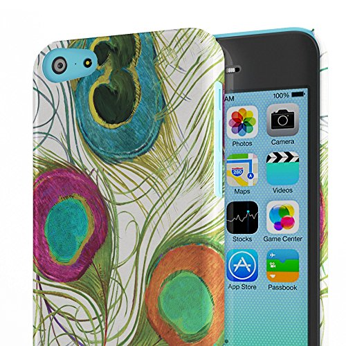 Koveru Back Cover Case for Apple iPhone 5C - Peacock Feather