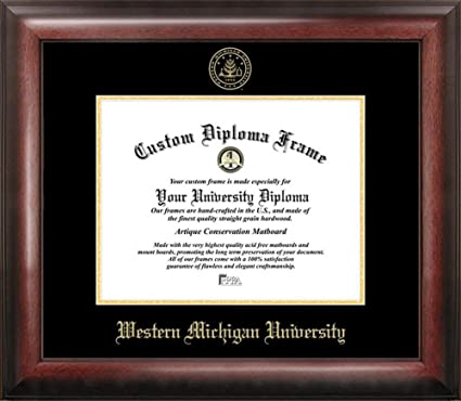 Amazon.com : Western Michigan University Home Office Diploma Picture ...