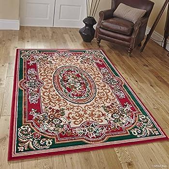 Amazon.com: Allstar Borgoña tela tradicional Persa Diseño de ...