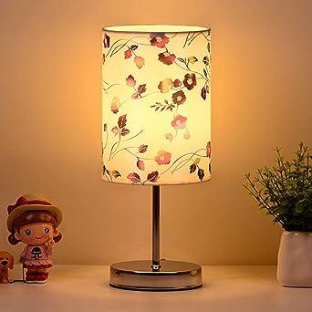 Lámpara de mesilla de noche cálida romántica moderna minimalista ...