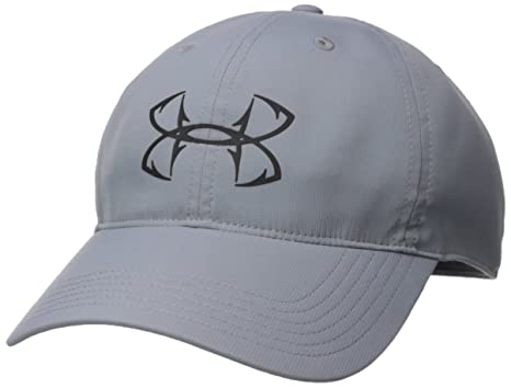7b2eff89646 ... usa under armour mens fish hook 2.0 cap steel black one size abe67 d0115