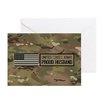 Amazon Cafepress Us Army Proud Husband Camo Greeting
