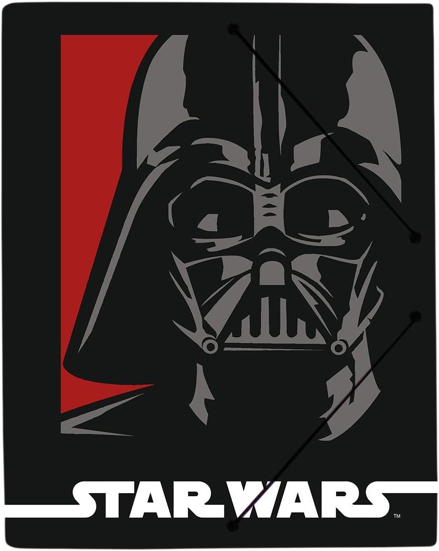 Polypropylen Grupo Erik Editores Ordner mit Gummihalterung 21/x 29,7/cm Star Wars Soldier 21 x 29.7 cm A4