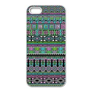 Personalized AXL377656 Durable Cell Phone Case For Iphone 5,5S Cover Case w/ Aztec Pattern