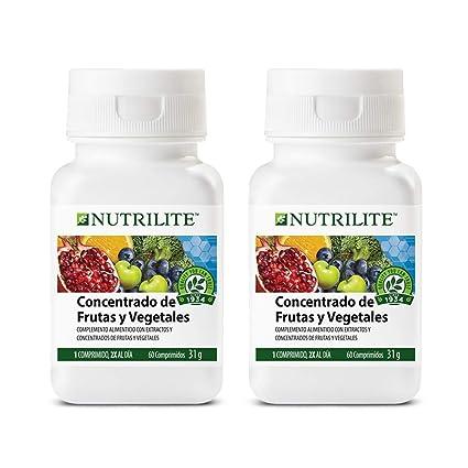 Concentrado de Frutas y Vegetales biológico de NUTRILITE-Pack 2 x 60 comprimidos 1 al