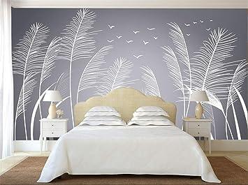 Tapete 3d Wandbilder Natur Schilf Fototapete Fur Wohnzimmer Schlafzimmer Tv Sofa Hintergrund Papier Wandbild Amazon De Baumarkt