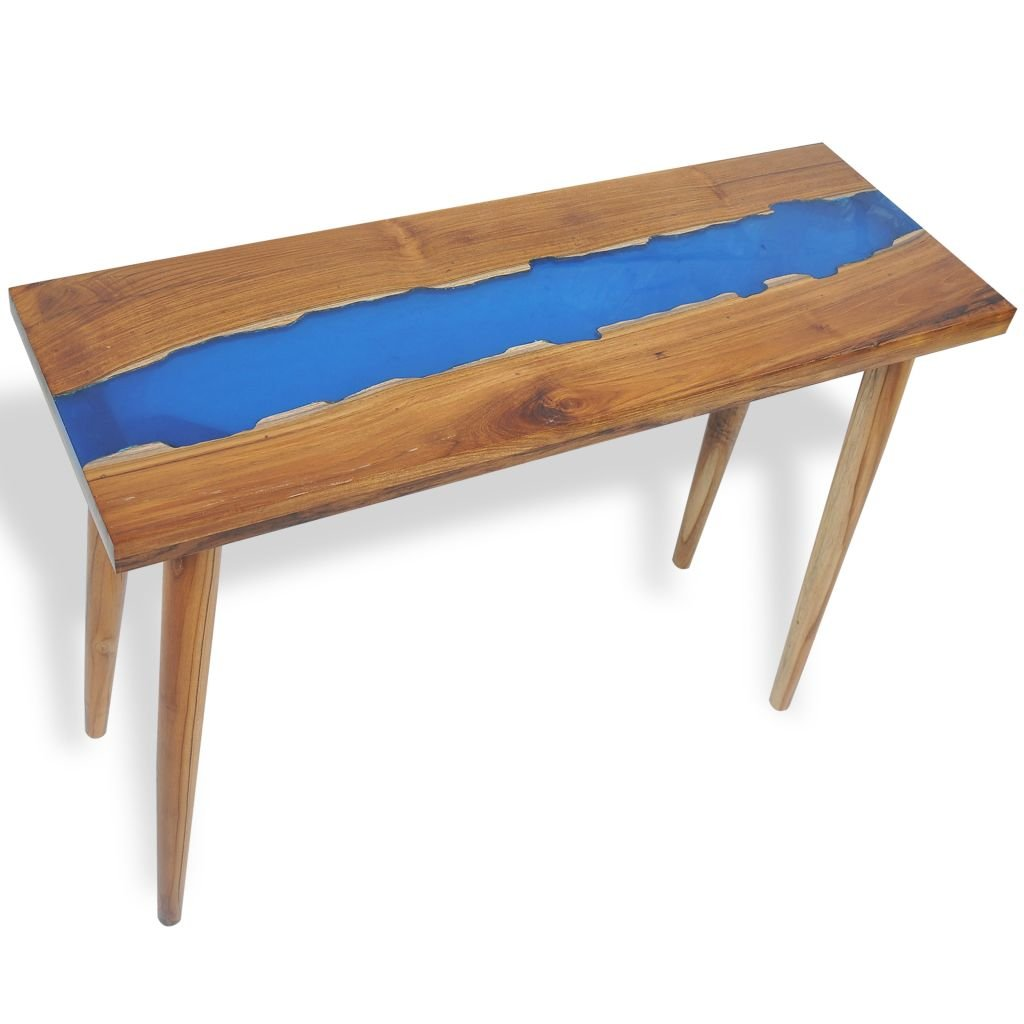 innovative design 91206 9bef2 Festnight- Wooden Coffee Table Console Table for Living Room ...
