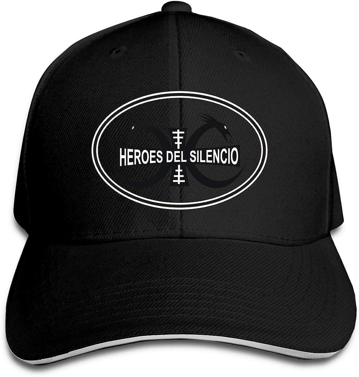 Canteslikister Unisexo Heroes del Silencio Sombreros Ajustables De ...