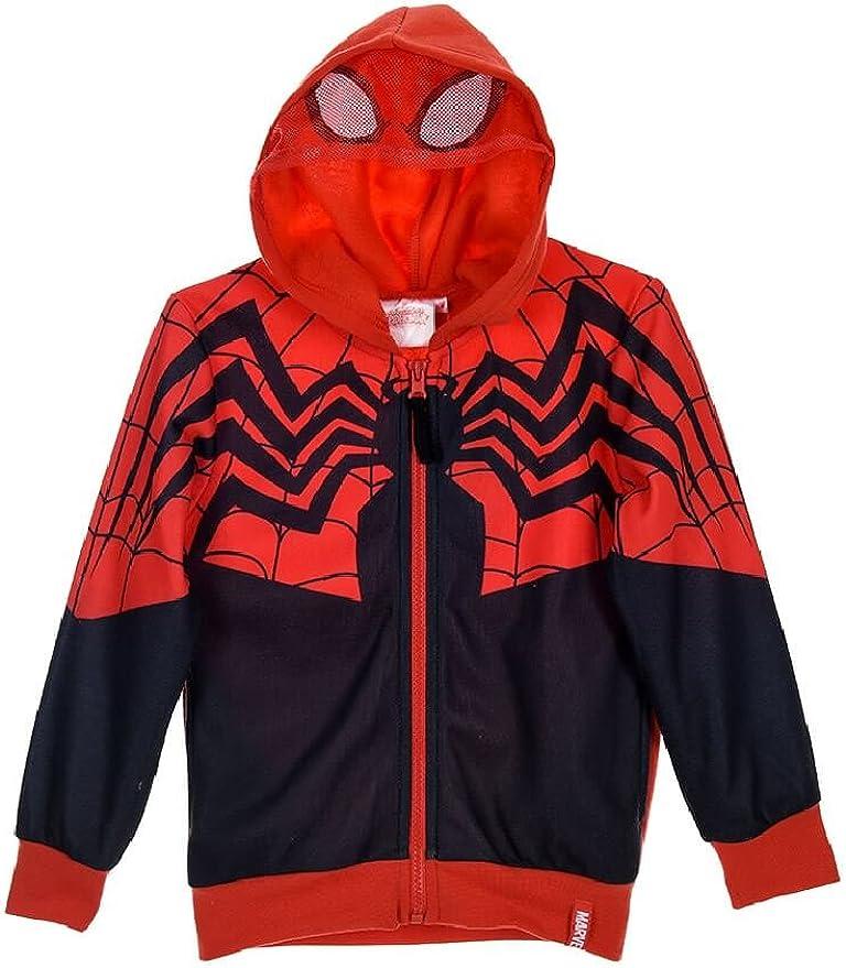 Spiderman - Sudadera con Capucha - para niño Negro Negro (6 Años ...