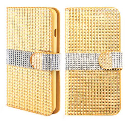alcatel-one-touch-fierce-2-7040t-pop-icon-a564c-gold-for-diamond-wallet-credit-card-bling-gems-jewel