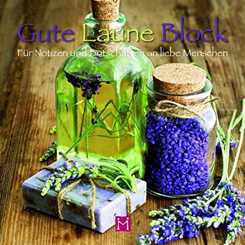 Gute Laune Block Lavendel