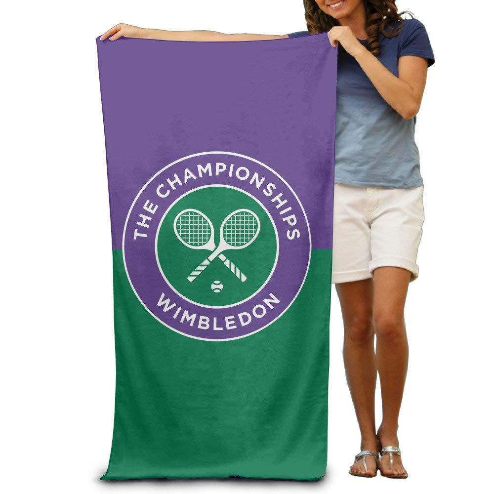 Toalla de Playa de Torneo de Tenis Wimbledon para Adultos // 31 x 51 Pulgadas Toalla de ba/ño Toalla de Microfibra de Secado r/ápido WayGoTee Toalla de Playa de Gran tama/ño 80 cm x 130 cm