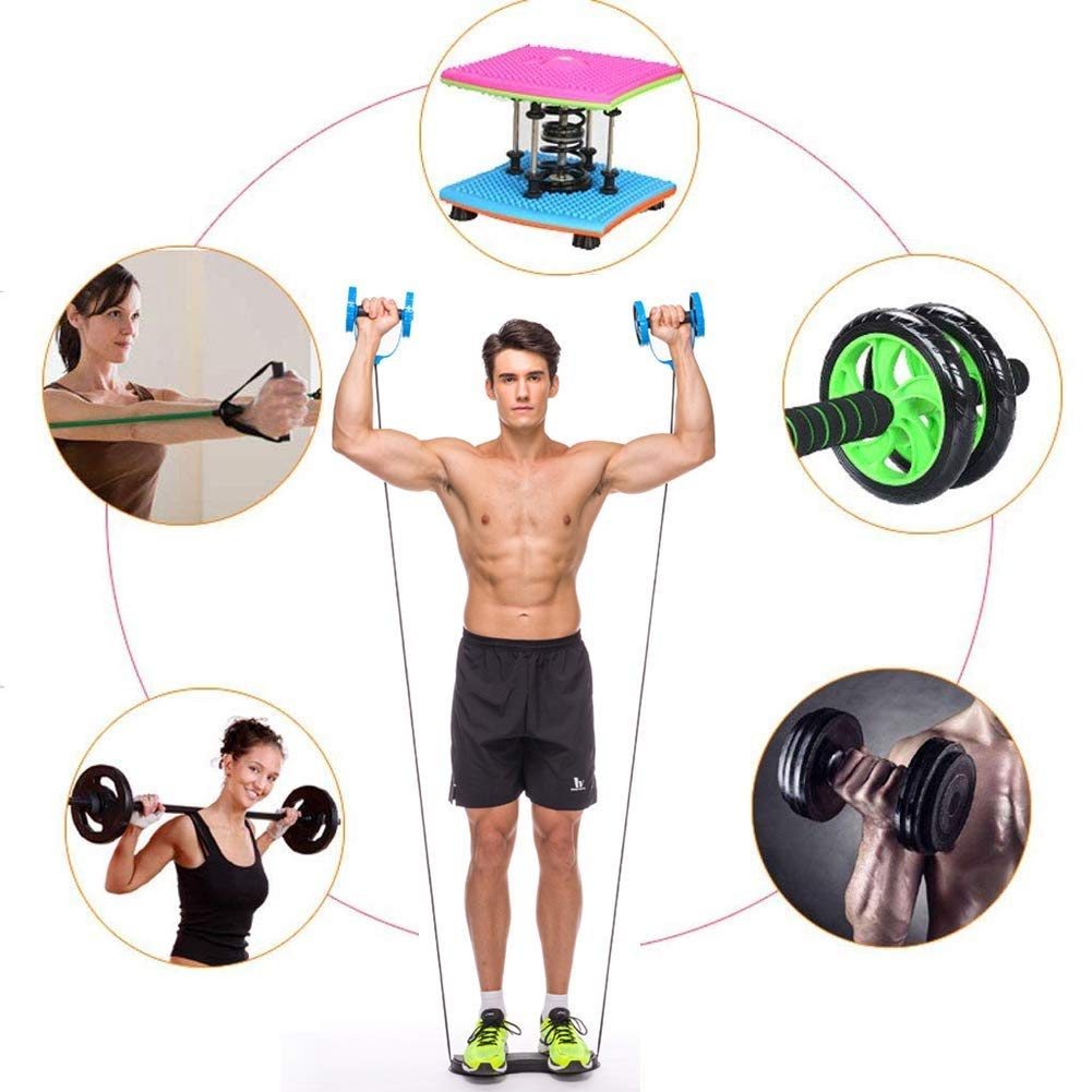Mscxj Xtreme Resistance Workout Full Body Training And Bidirectional Power Machine Unique Sports Equipment Move Forward And Backward Slowly Releases