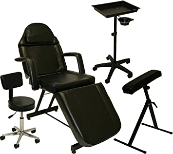 amazon com inkbed tattoo package massage table chair arm bar ink