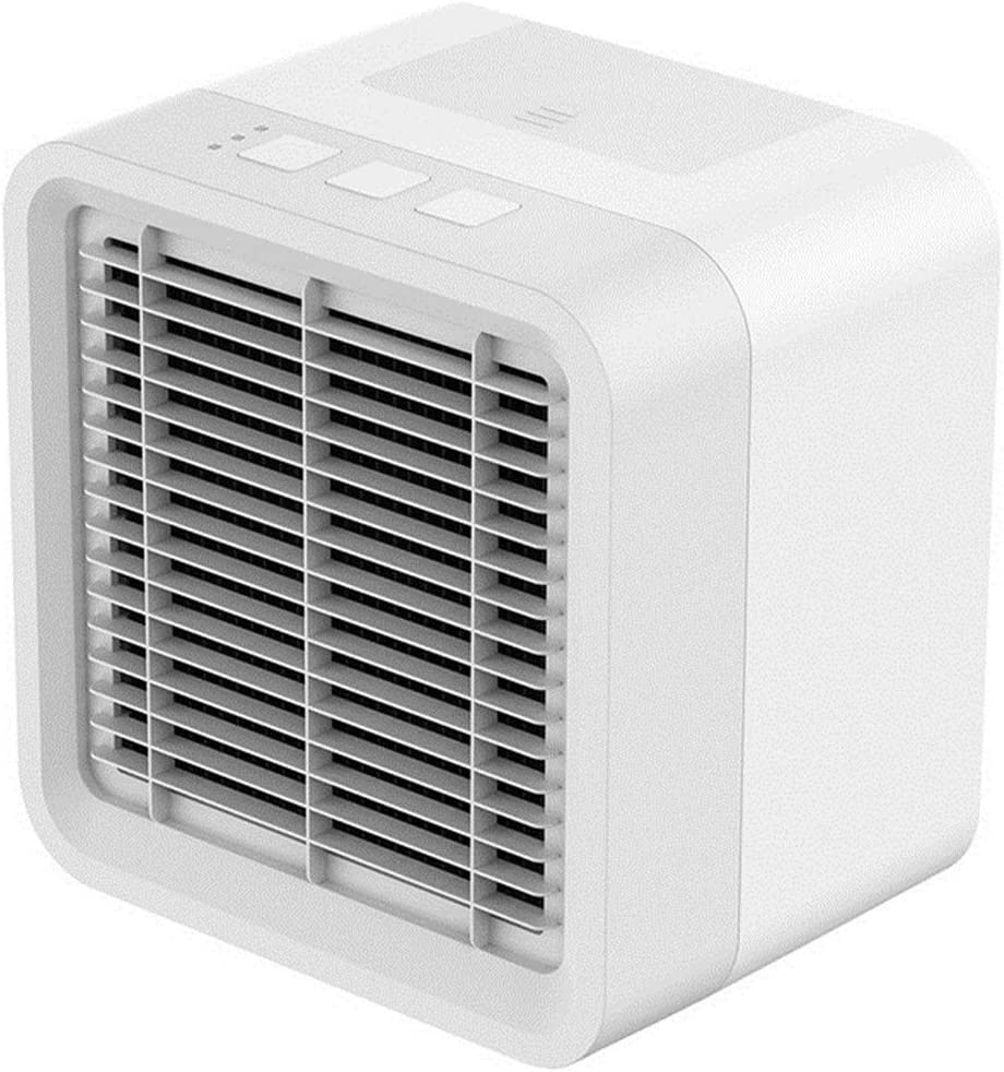 HXSJ Mini Multifuncional refrigerador de Aire con Carga USB aromaterapia Interfaz pequeño Ventilador de Aire Acondicionado Adecuado for Estudiantes compartida for Casa y Coche