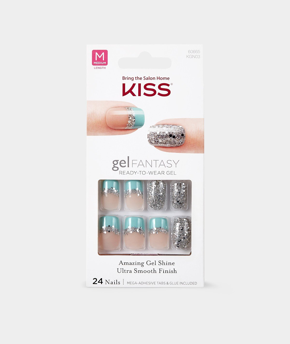 Amazon.com : **NEW** Kiss Nails GEL FANTASY \