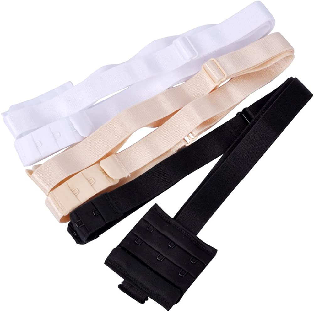 Lady Up 3 Pieces Women's Low Back Bra Converter for Party Backless Dresses