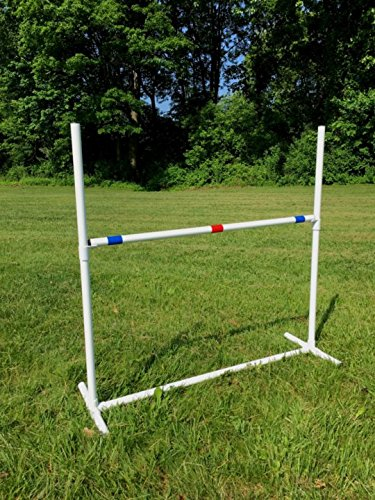 Dog Agility Equipment Single Bar Jumps | Set of 2 jumps by Dog Agility Shop, LLC (Image #4)