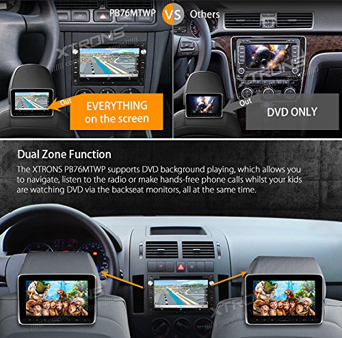 XTRONS Android 6.0 Octa-Core 64Bit 7 Inch Capacitive Touch Screen Car Stereo Radio DVD Player GPS CANbus Screen Mirroring Function OBD2 Tire Pressure Monitoring for VW Passat B5 MK3/4/5 by XTRONS (Image #6)