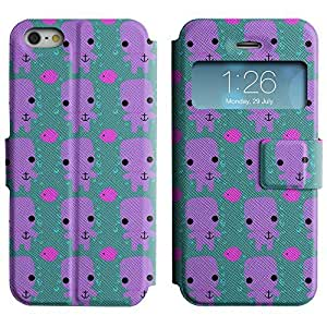 Be-Star Colorful Printed Design Slim PU Leather View Window Stand Flip Cover Case For Apple iPhone 5 / 5S ( Cute Character ) Kimberly Kurzendoerfer