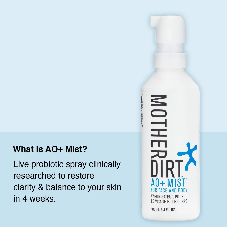 Mother Dirt AO+ Mist Skin Probiotic Spray, Preservative-Free, 3.4 fl oz by Mother Dirt (Image #2)