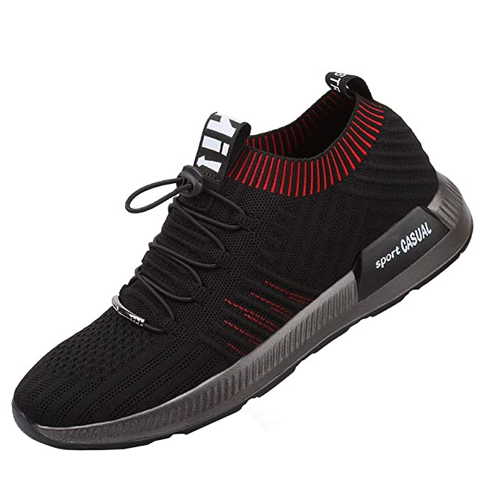 Zapatillas Hombre JiaMeng Zapatillas Running Hombre Zapatillas Deportivas Transpirables Resistentes al Desgaste de la Zapatilla de Deporte del Ocio: ...