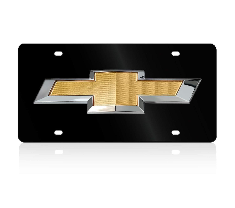 Compatible with Acrylic License Plate Chevrolet Bowtie Lazer-Tag Eurosport Daytona