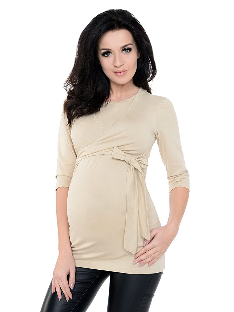 db0dd6d5913 Purpless Maternity 2in1 Pregnancy Nursing Top 3/4 Sleeved Tunic Women 7735:  Amazon.ca: Clothing & Accessories