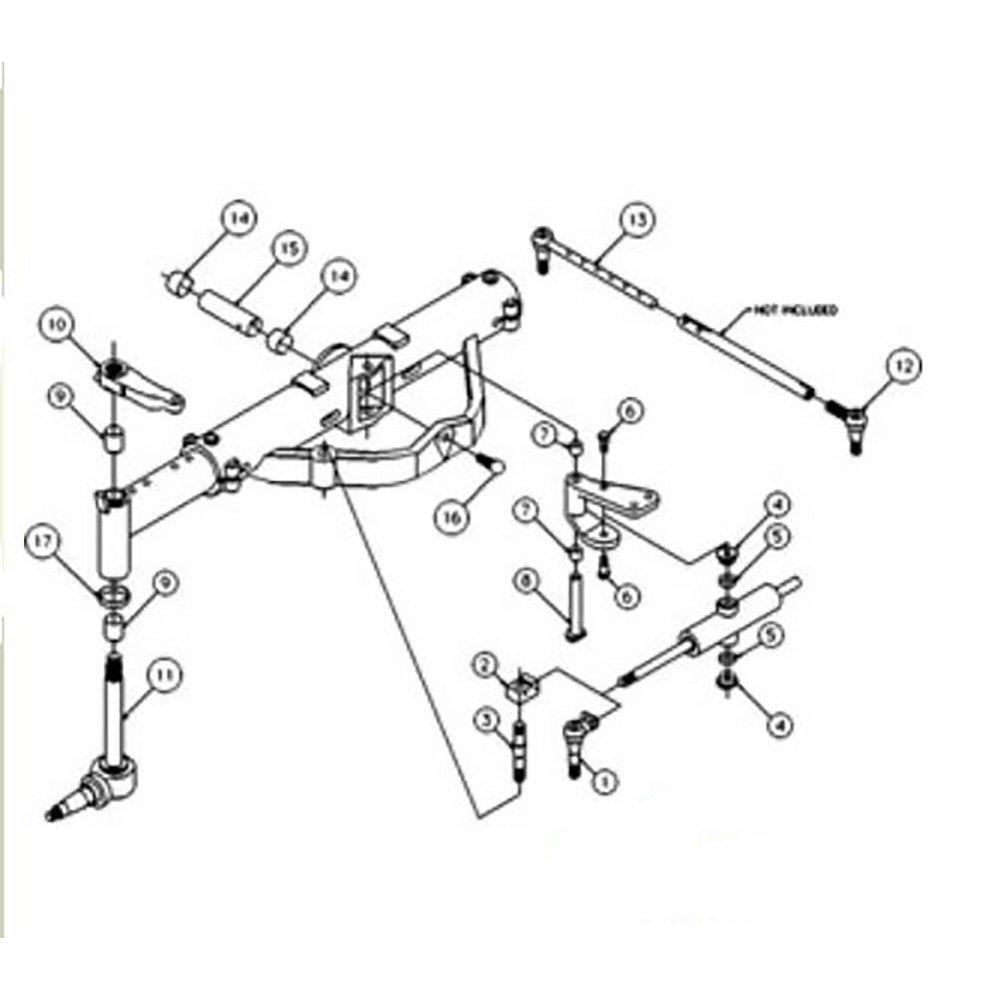 50291006 - Kit de reparación de eje delantero para modelos de ...