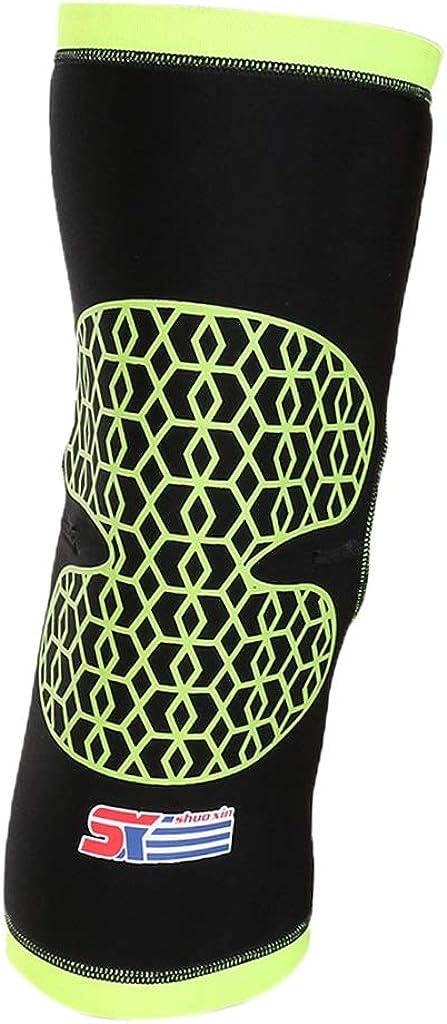 IPOTCH Manches /à Compression de Mollet Soutien de Genou V/élo Jogging Fitness /& Exercise pour Performance Am/élior/ée Course