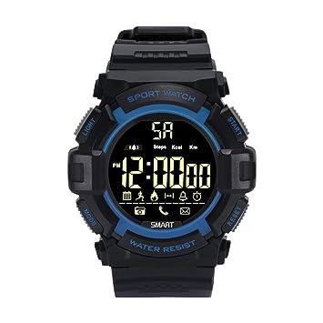 VEHOME Pulsera de Actividad Inteligente Reloj-Reloj Deportivo Inteligente EX16S-Bluetooth-Fitness Tracker Pulsómetro -Relojes Deportivos-Radares de ...
