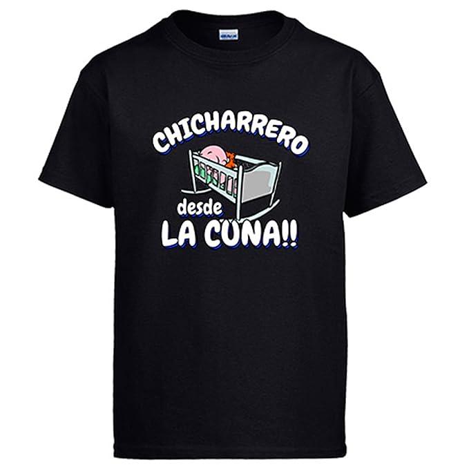 Diver Camisetas Camiseta Chicharrero Desde la Cuna Tenerife fútbol: Amazon.es: Ropa y accesorios