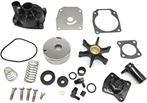 GHmarine 18-3389 Water Pump Impeller Kit 438597 432955 for Johnson Evinrude 60 65 70 75HP