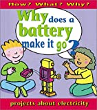 Why Does a Battery Make It Go?, Jackie Holderness, 0761317384