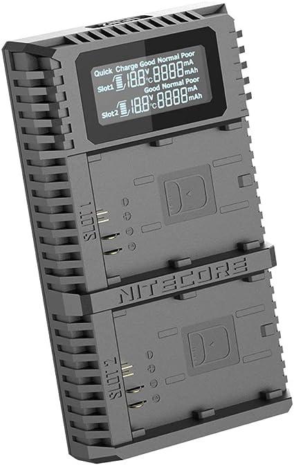 Nitecore Ucn2 Pro Lp E6 Dual Slot Camera Photo