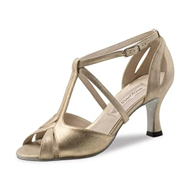 1e41a05a011 Werner Kern Femmes Chaussures de Danse Amy - Cuir Perl Nude - 6