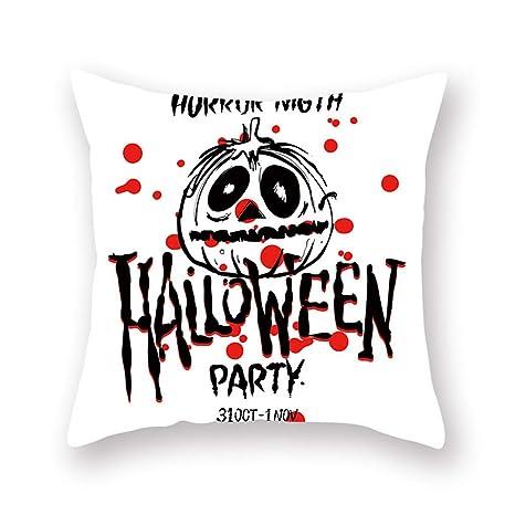 Funda De Almohada De Halloween 45 * 50 Cm ღ YGbuy ...