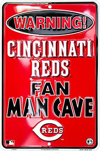 Cincinnati Reds Fan Man Cave Sign