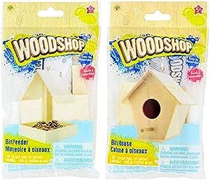 Woodshop Birdfeeder & Birdhouse Craft Kit