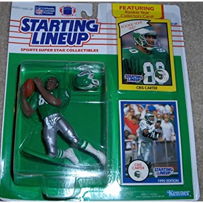 Starting Lineup CRIS Carter 1990 NF: Toys & Games