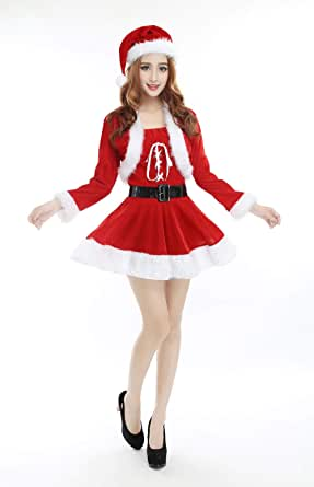Pijamas Mujer Camisones Fantasy Christmas Dress Sexy Home Ocio ...
