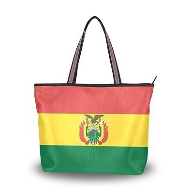 Amazon.com: Brighter Bandera de Bolivia Bolso Bolso de mano ...