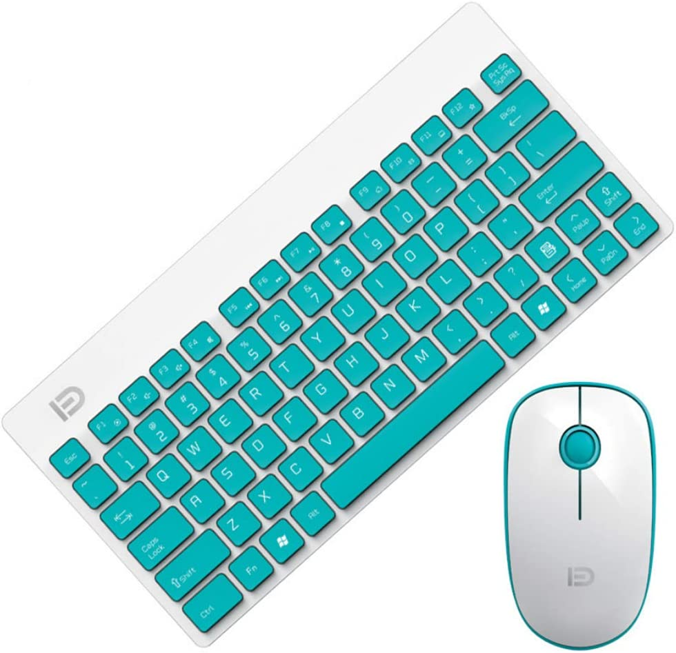 2.4GHz Wireless Connection Multi Color Available Unique Stylish Design Wireless Keyboard and Mouse Combo