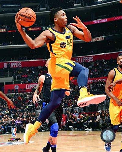 Donovan Mitchell Utah Jazz Action Photo (Size: 8