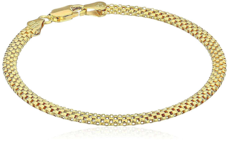 Sterling Silver Mesh Chain Bracelet