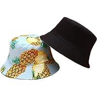 osfanersty Mujeres Hombres Verano Reversible Packable Sombrero De