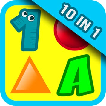 e630cdff7 10 Preschool Activities in One App - Fun Educational Kids Games (ABC  letters, learn