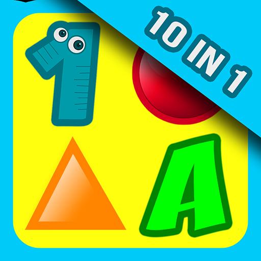 10 Preschool Activities In One App