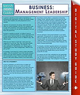 business management study guide pdf